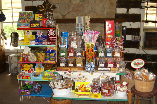 Candy at The Hitching Post in Aurora Kentucky