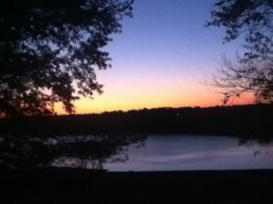 Barren River Lake at Sunset