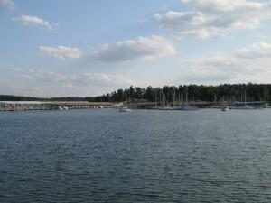 Kentucky Lake and the Kentucky Dam Marina
