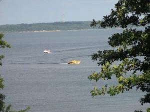 Boating on Kentucky Lake