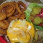 Docker's Bayside Grill Turtle Burger