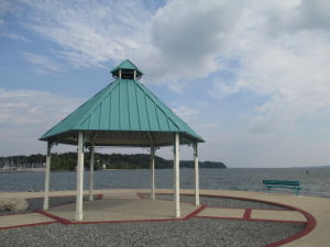 Gazebo on the Grand Rivers Jetty