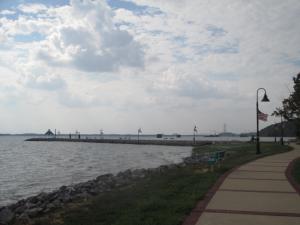 Grand Rivers Jetty, Lighthouse Landing