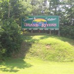 Grand Rivers Sign