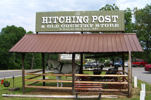 Hitching Post in Aurora Kentucky