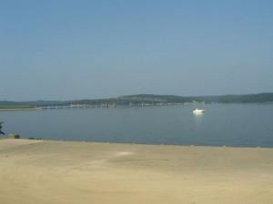 Kentucky Lake view from Kenlake State Resort Park