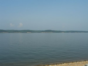 Beautiful Kentucky Lake, the ideal place to get away from it all.
