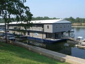 Kenlake State Resort Park marina on beautiful Kentucky Lake