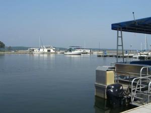 Kenlake State Resort Park Marina on Kentucky Lake