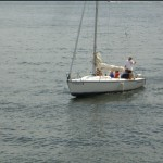 Sailing on Kentucky Lake at Lighthouse Landing