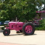 Pink Tractor Grand Rivers Kentucky