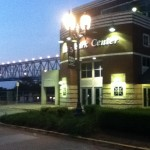 Riverpark Center Owensboro, Kentucky at night