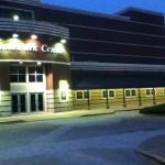 Riverpark Center Owensboro, Kentucky at night
