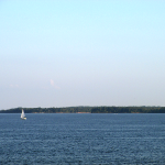 Sailboat on Kentucky Lake