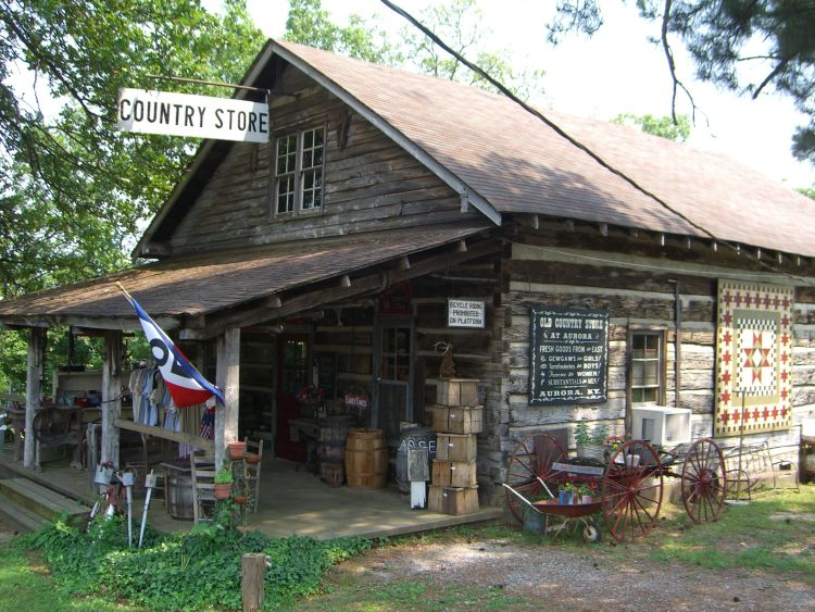 Old Country Store in Aurora, Kentucky (Beside The Hitching Post)