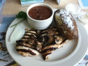 Kenlake State Resort Park Aurora Landing Restaurant Chicken Dinner
