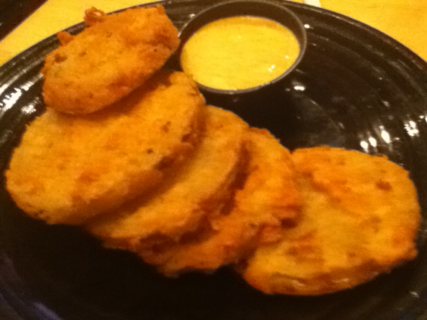 Eddie Montgomery Steakhouse Fried Green Tomatoes