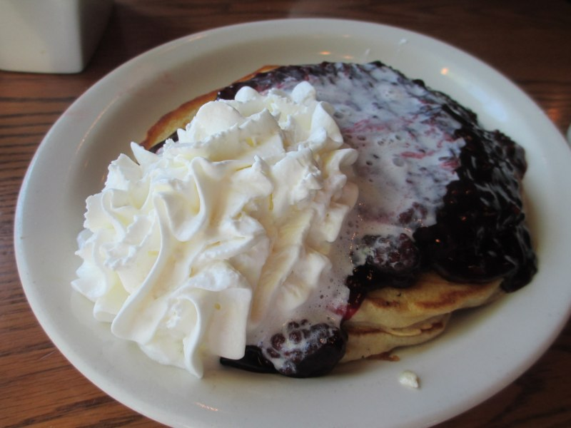 Blueberry Pancakes Cracker Barrel