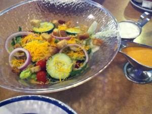 Bob Evans Owensboro Salad and Dressing