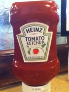 Heinz Ketchup Always a Plus!