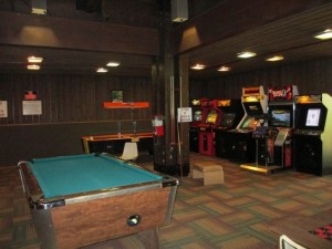 Arcade at Lake Barkley State Resort Park Lodge