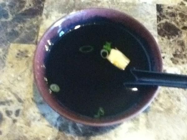 Wasabi Express House Soup