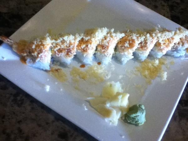 Wasabi Express Sushi: White Boy Roll
