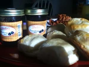 Kentucky Jam and Buttermilk Biscuits
