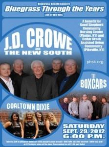 Bluegrass Through the Years Benefit Concert