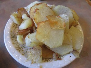 Fried Potatoes with Breakfast at Grayson's Landing