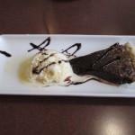 Chocolate Fudge Pie and Ice Cream at Kentucky Dam Village State Resort Park's Harbor Lights