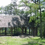 Church Shelter Overlooking the Lake