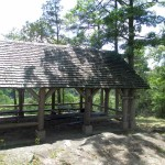 Church Shelter Overlooking the Lake at Pennyrile Forest State Park