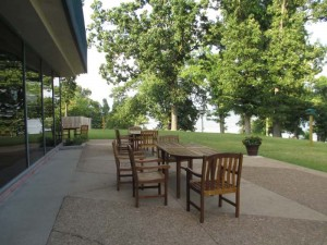 Kentucky Dam Village State Resort Park's Lodge - Patio Out back with a view you have to see to believe!