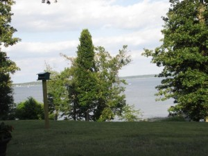 View of Kentucky Lake from the lodge