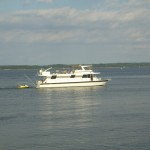 Boat on Kentucky Lake