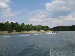 Lakeside Camping at Rough River Lake