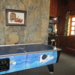 Air Hockey Table in the Game Room at Pennyrile Forest State Resort Park's Lodge