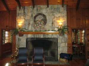 Inside the Pennyrile Forest State Resort Park Lodge