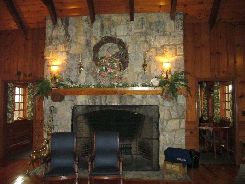 Inside the Pennyrile Forest State Resort Park Lodge