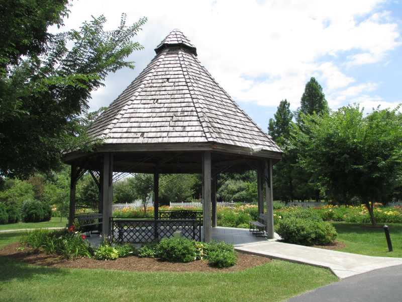 Western Kentucky Botanical Garden Gazebo