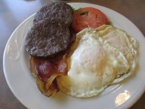 Breakfast at Grayson's Landing Restaurant