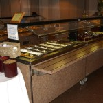 Buffet at Grasyson's Landing Restaurant