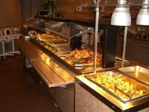 Buffet at Grasyson's Landing Restaurant