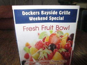 Dockers Bayside Grill at Green Turtle Bay in Grand Rivers