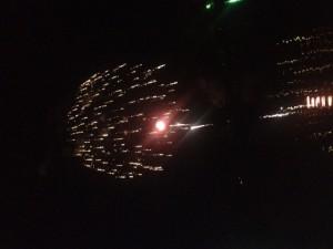 Fireworks at Panther Creek Park, Owensboro