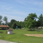 Picnic Area at Rough RIver Dam State Resort Park