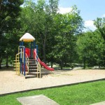 Playground in the Rough River Dam State Resort Park Campground