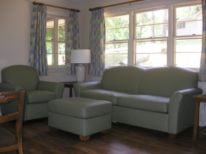 Living Room in a Rough River Dam State Resort Park Cottage