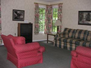 Inside a Cottage at Rough River Dam State Resort Park